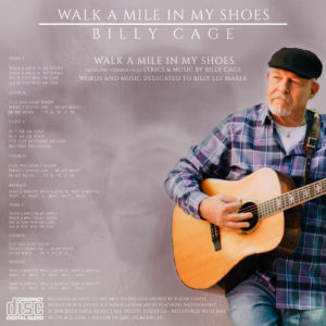 Walk A Mile In My Shoes - Billy Cage - BC001 - 2018 (web bk)